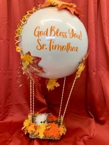 Hot Air Balloon Style & Personalized
