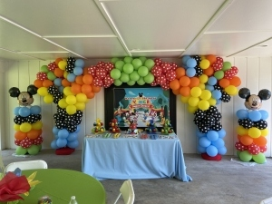 Mickey Mouse Multicolor Arch