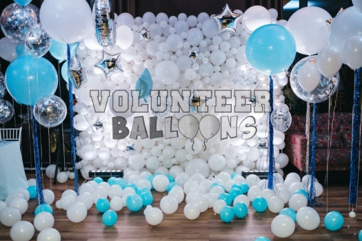 Volunteer Balloons  Wedding Balloon Decor