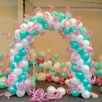 Fairy Tale Pastel Balloon Arch