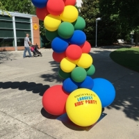 Personalized Balloon Arch Footers for Special Events