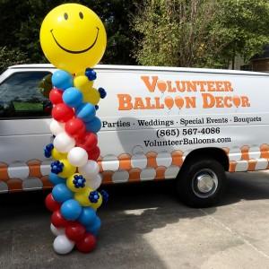 Contact Volunteer Balloon Decor