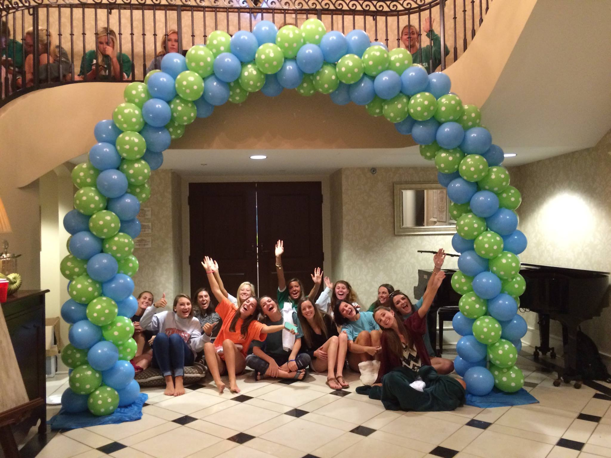 Events decoration at Kappa Delta sorority