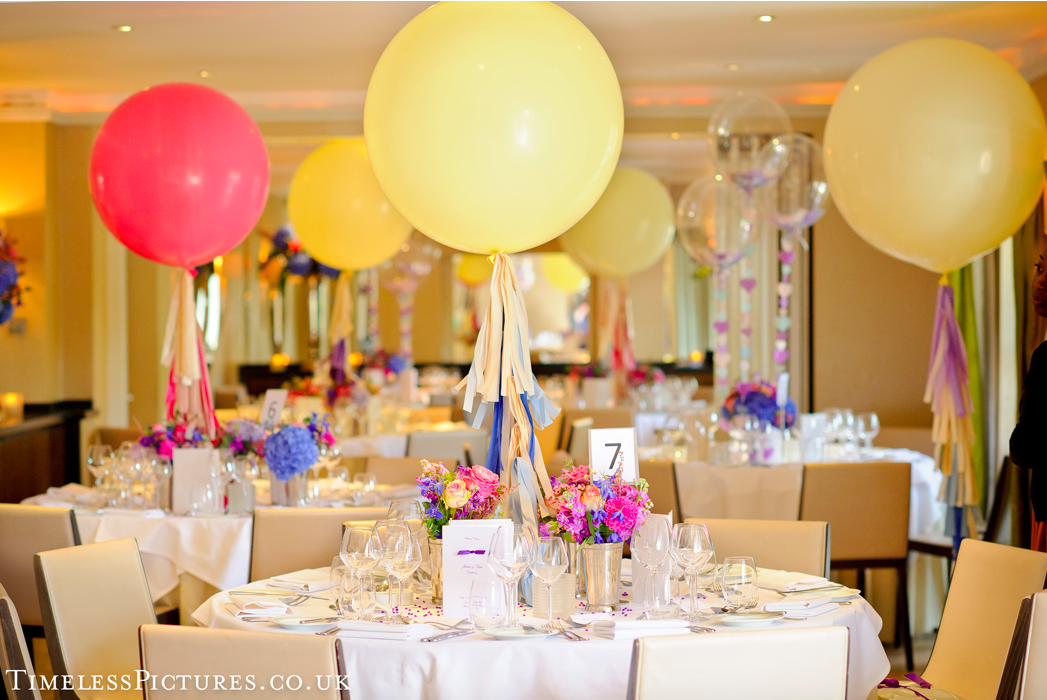 Event decorations - working with a balloon decor professional