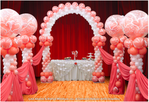 event decorations, event decor, balloon decor, Knoxville balloons, Knoxville event decorations