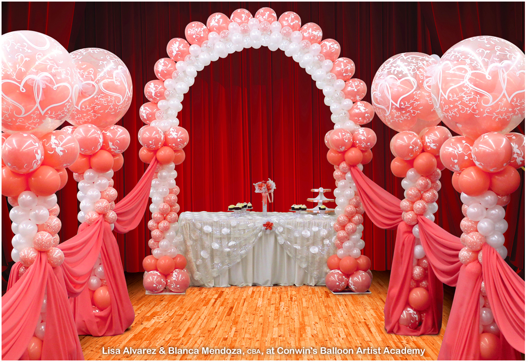 Event decorations working with a balloon decor professional for Decoration balloon
