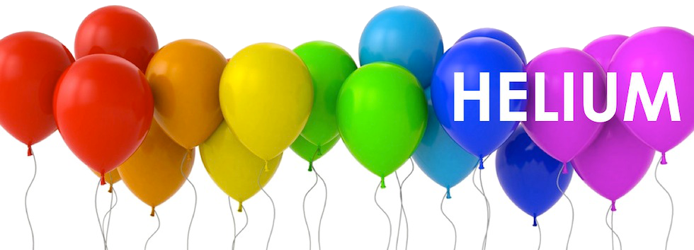 helium cylinders, knoxville, helium balloons